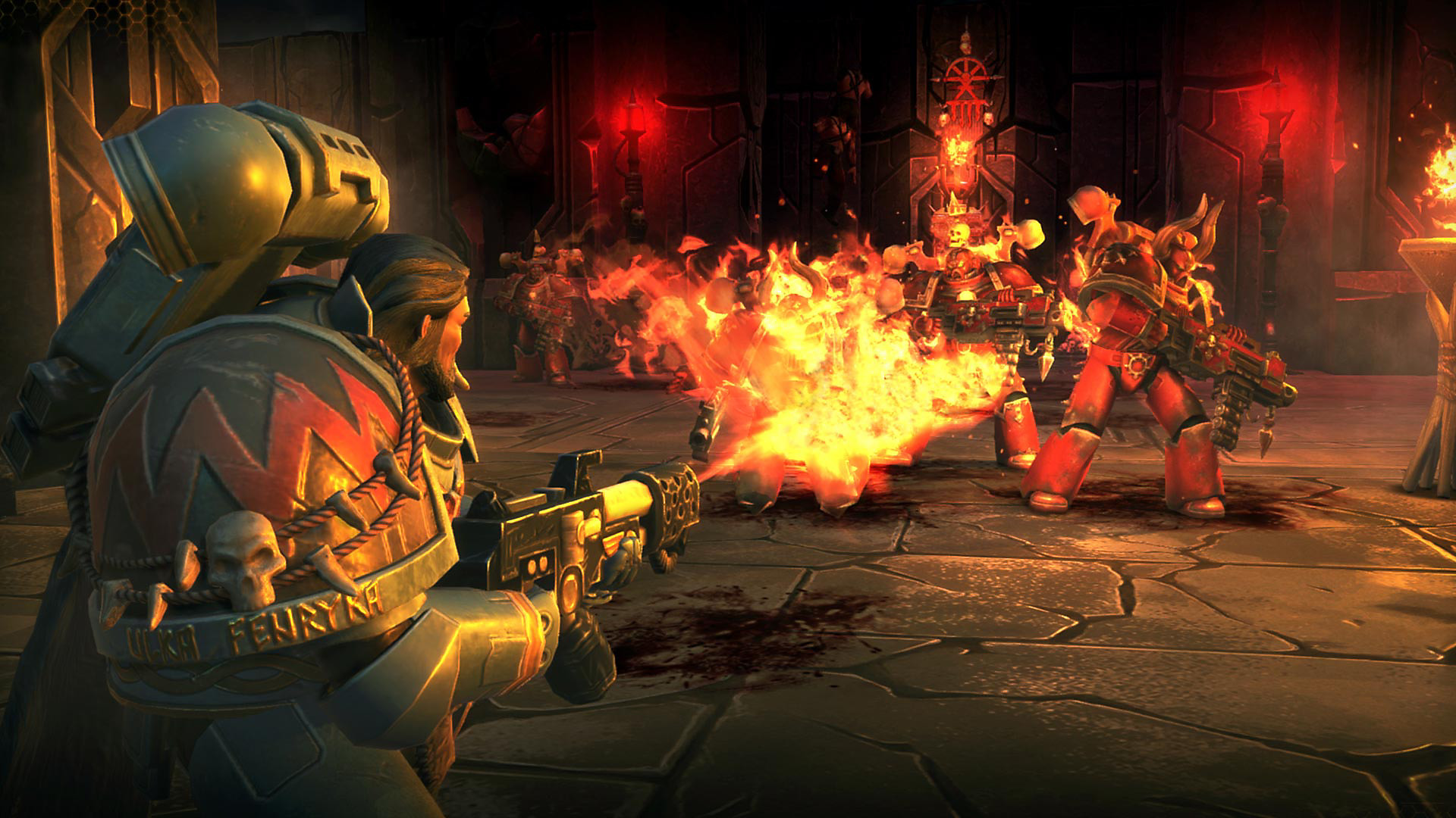 Warhammer 40,000: Space Wolf Game | PS4 - PlayStation