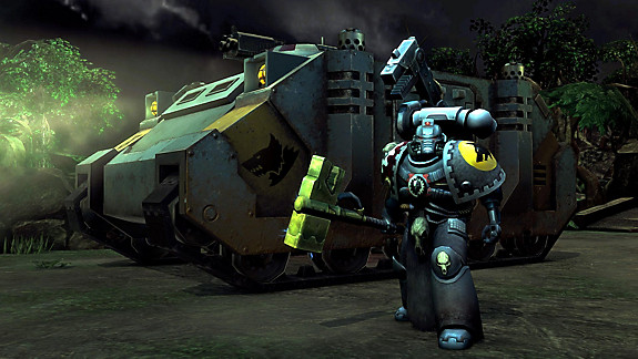 Warhammer 40,000: Space Wolf - Screenshot INDEX