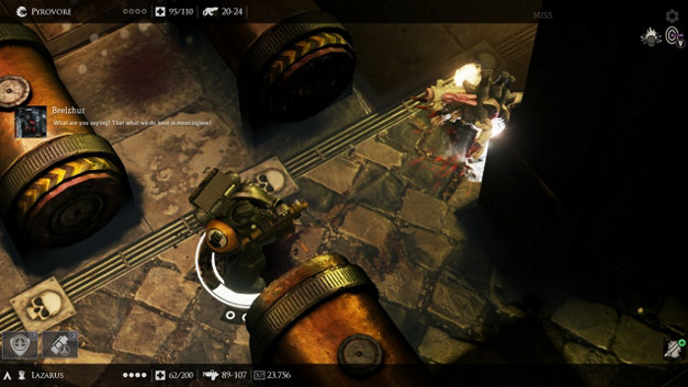 WARHAMMER 40K: DEATHWATCH Screenshot 1