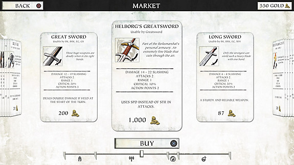Warhammer Quest 2: The End Times - Screenshot INDEX