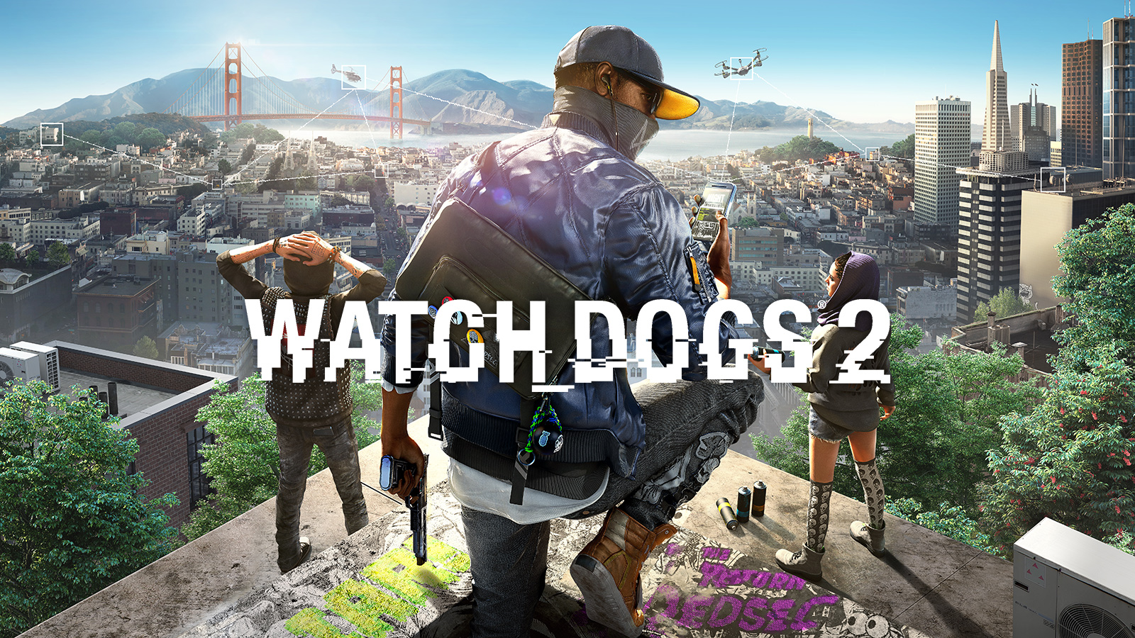 Promoçoes watch dogs 2