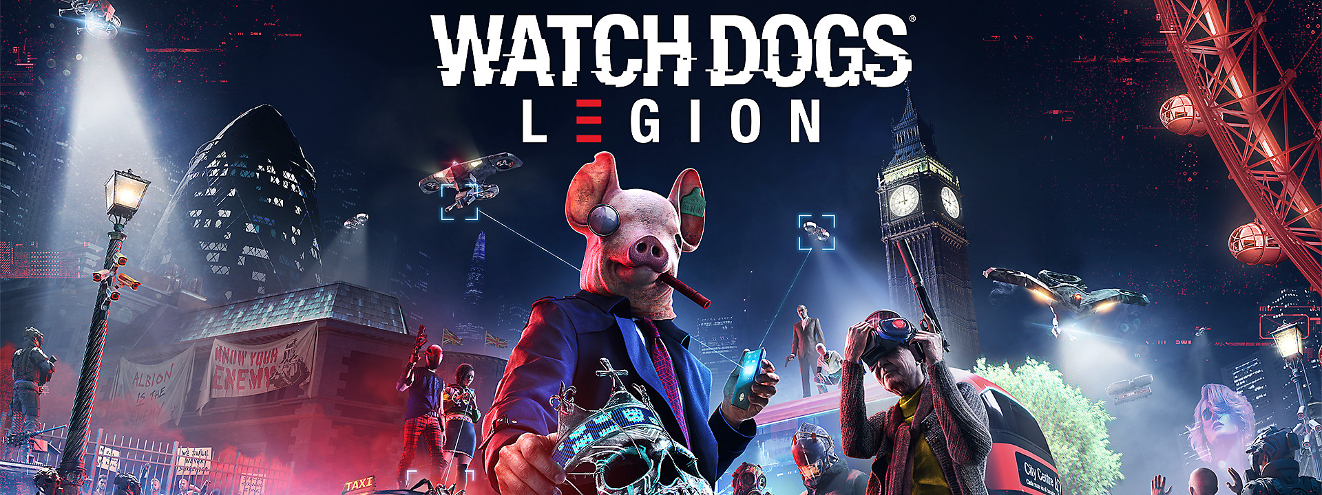 Watch Dogs Legion - Available Now