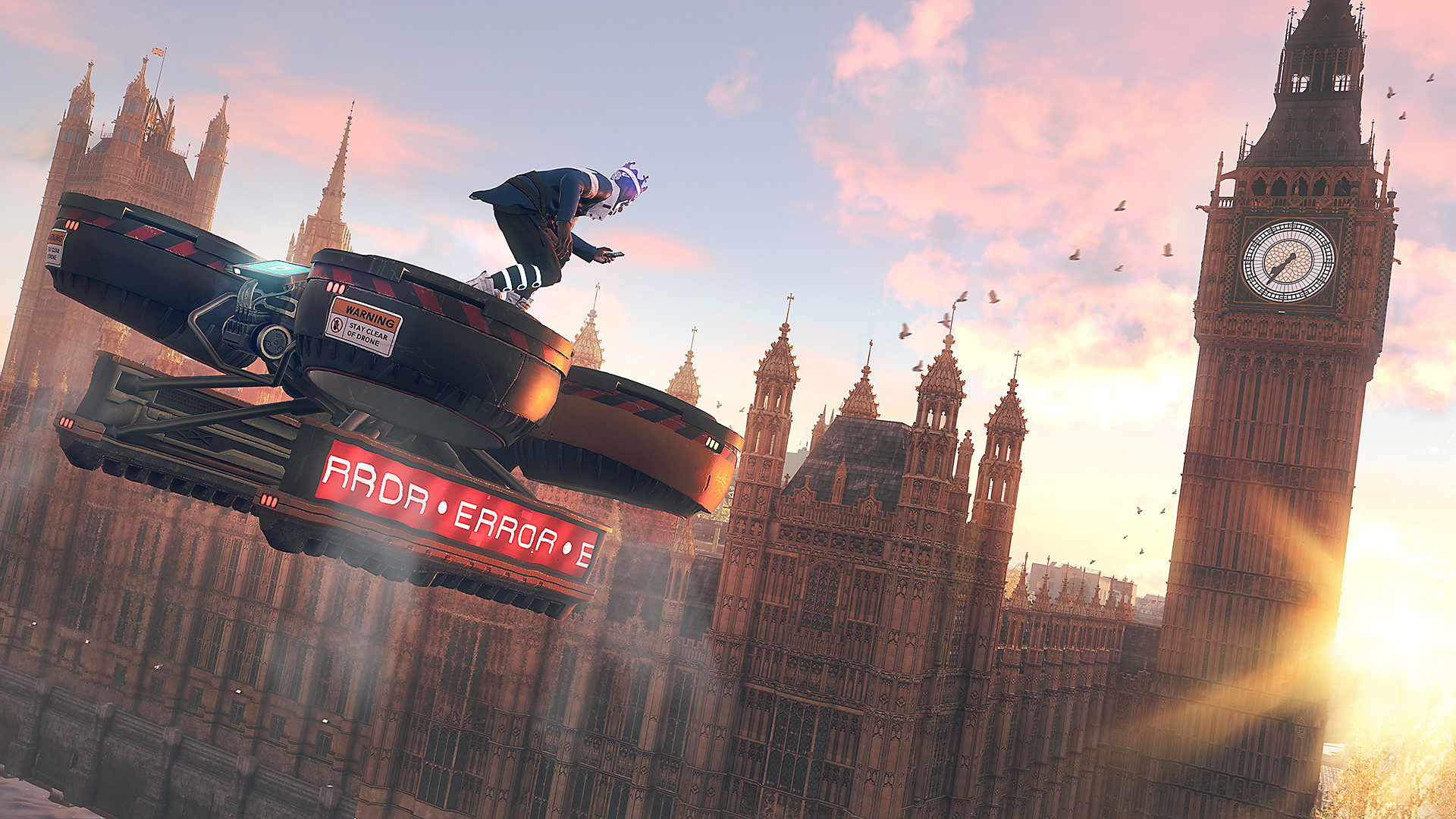 Watch Dogs: Legion: captura de pantalla del entorno de Londres