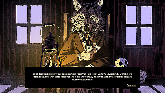 Where the Water Tastes Like Wine - Screenshot INDEX