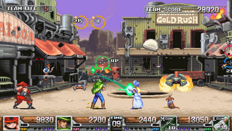 Wild Guns™ Reloaded Trailer Screenshot
