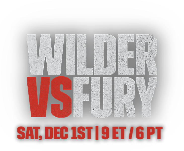 Wilder vs Fury logo