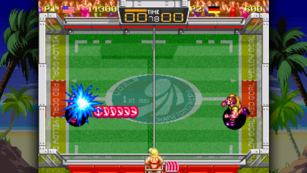 Windjammers Screenshot 1