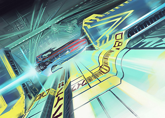 WipEout Omega Collection Wallpaper 10