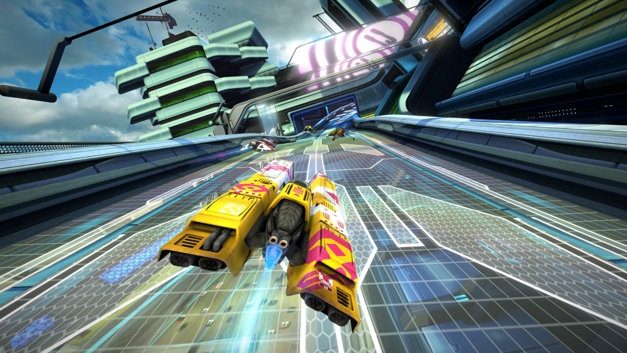 WipEout Omega Collection Screenshot 1