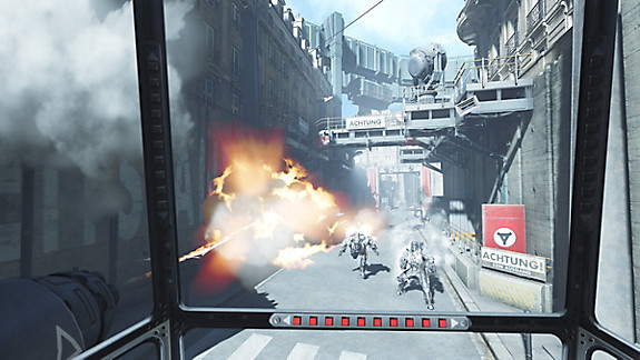 Wolfenstein: Cyberpilot - Screenshot INDEX