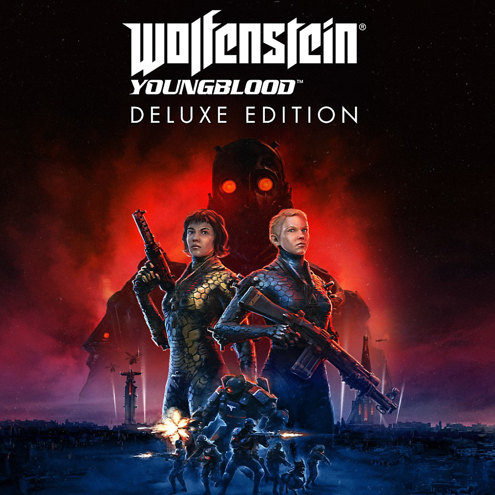 Wolfenstein Youngblood Deluxe Edition art