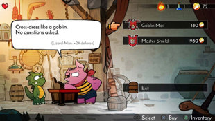 Wonder Boy: The Dragon's Trap Screenshot 3