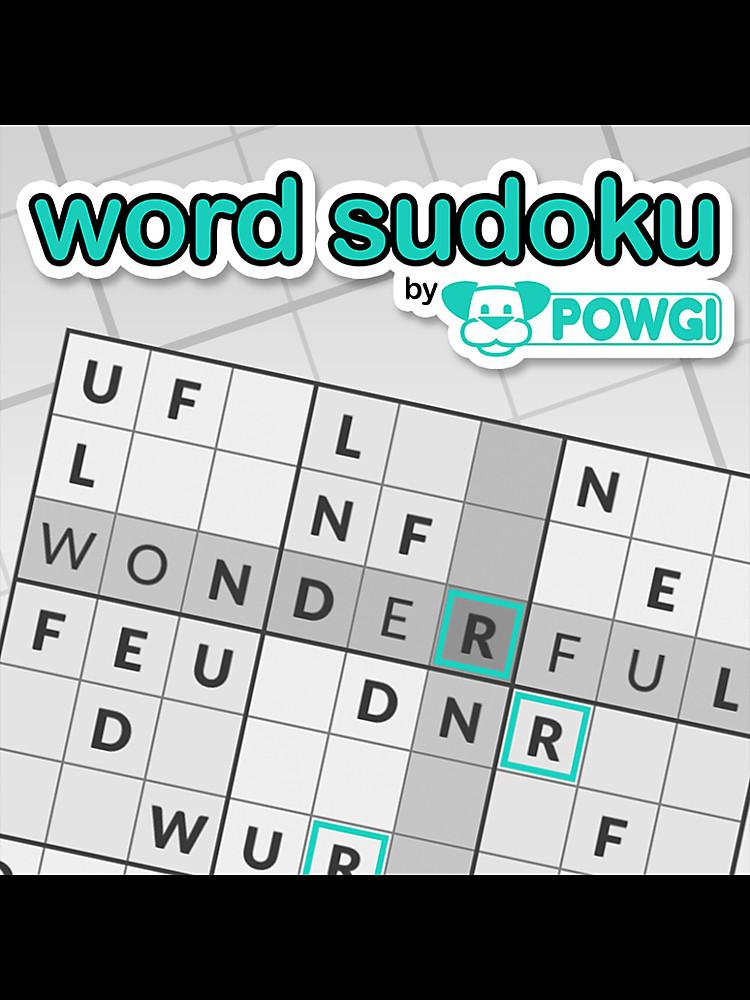 word sudoku by powgi game psvita playstation