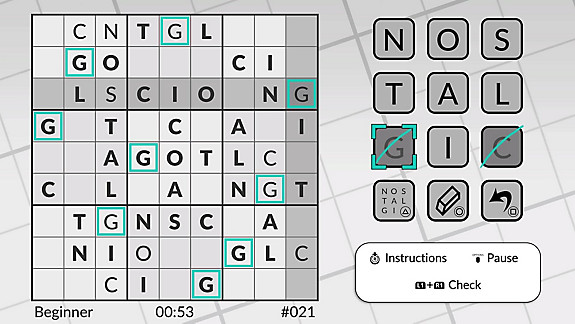 Word Sudoku by POWGI - Screenshot INDEX