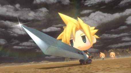 WORLD OF FINAL FANTASY™ Trailer Screenshot