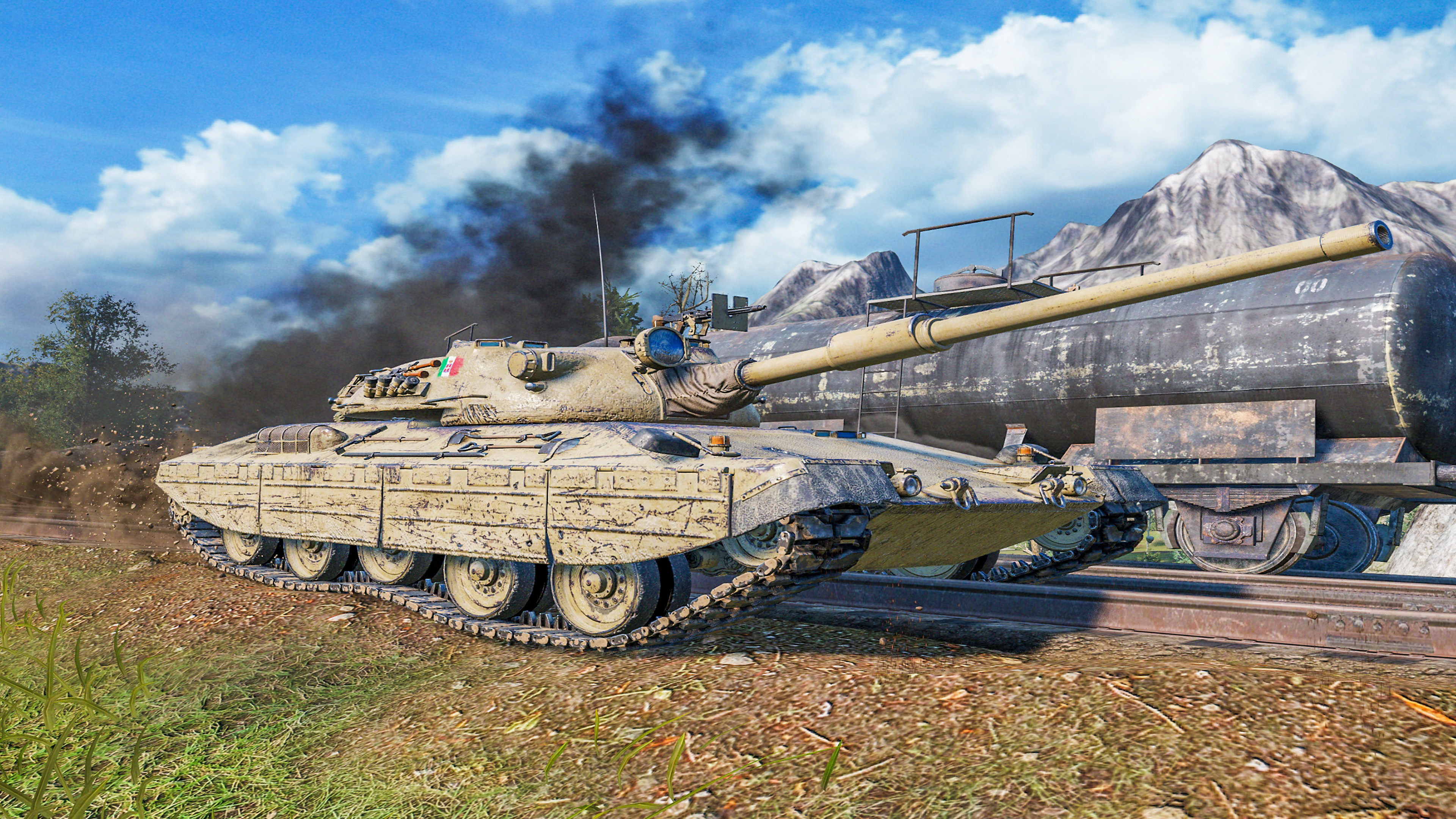 World of Tanks: Valor - White Tank