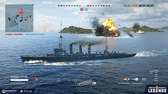 World of Warships: Legends - Screenshot INDEX