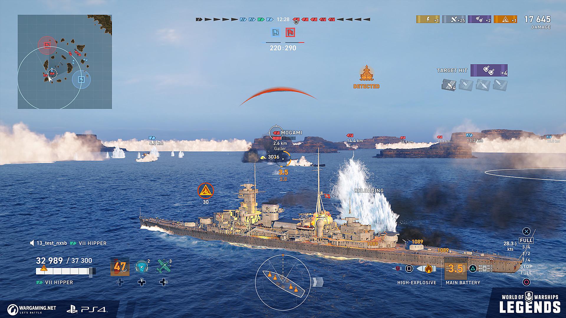 World Of Warships Legends Ships