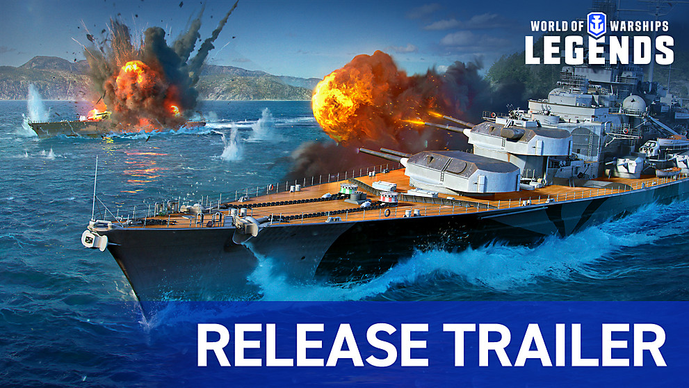 World of Warships: Legends - Update 1.0 Trailer | PS4