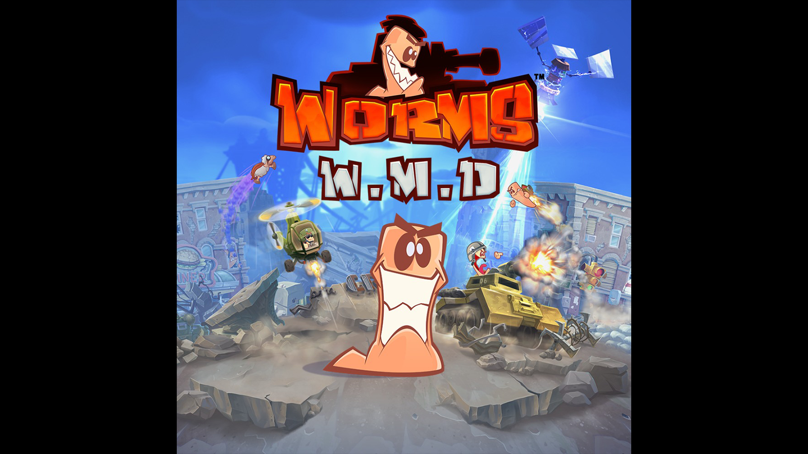 Worms W M D Game Ps4 Playstation