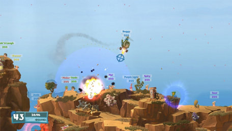 Worms W.M.D Trailer Screenshot