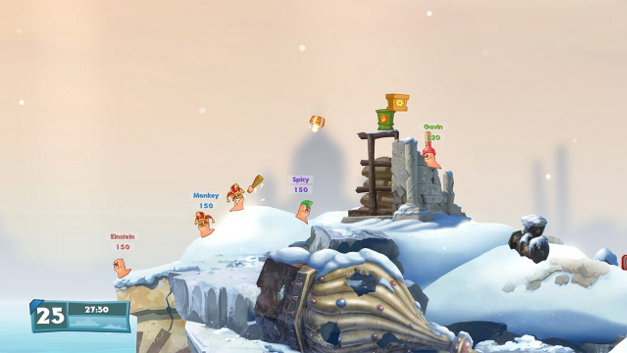Worms W.M.D Screenshot 7