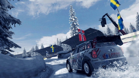 WRC 4 - FIA World Rally Championship Trailer Screenshot