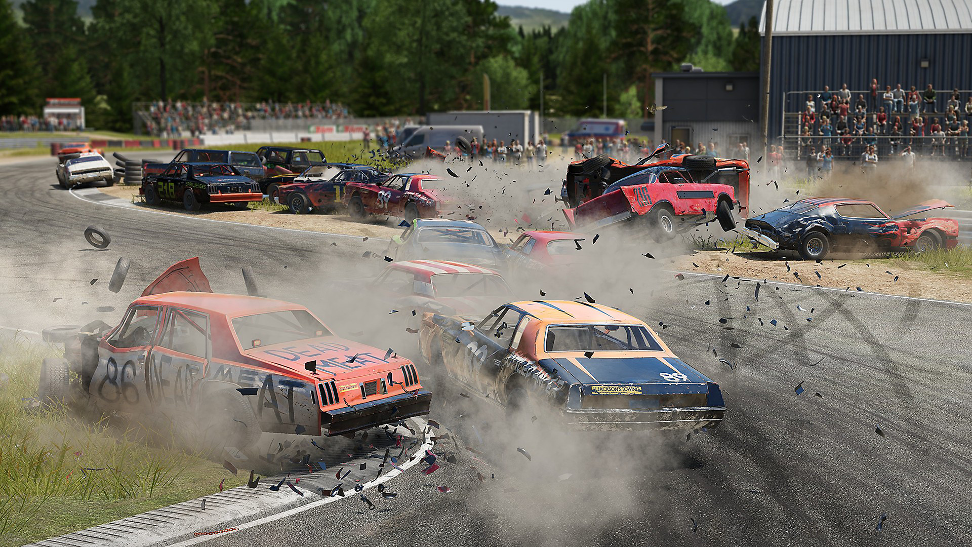 Gameplay de Wreckfest