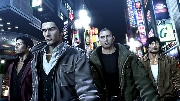 Yakuza 5 Remastered - Screenshot INDEX
