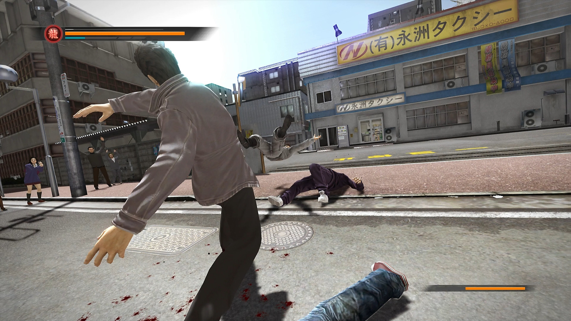 Yakuza 5 Remastered en acción