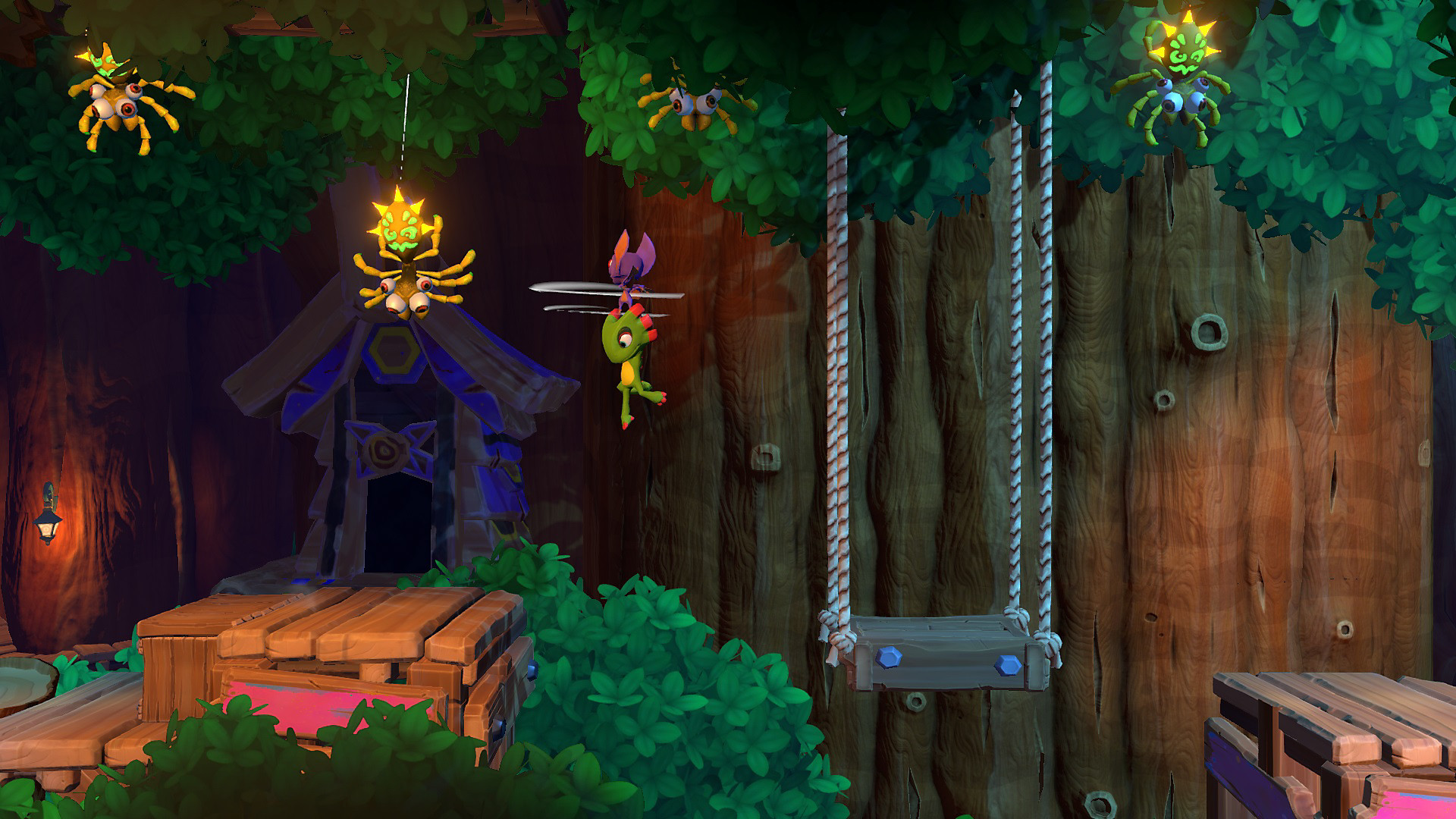 Yooka-Laylee and the Impossible Lair in Action