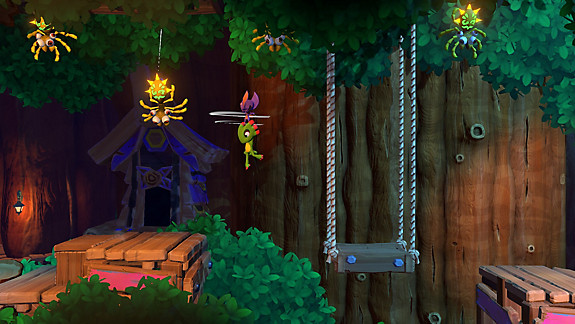 Yooka-Laylee and the Impossible Lair - Screenshot INDEX