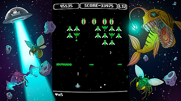 Zeroptian Invasion - Screenshot INDEX